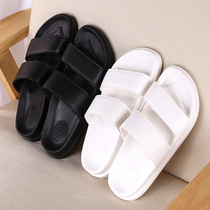 Summer Korean lazy casual female slippers Harajuku retro wind outdoor couple slippers female non-slip flat sandals
