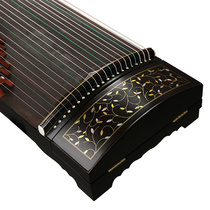 Xinghai guzheng Qin beginners introduction children imitation Walnut Ebony Flying Point Green zither musical instrument