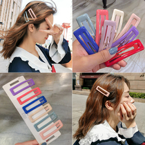 South Korea ins net Red Girl Candy hairpin fresh and sweet bb clip cute simple side clip wild hairpin headdress