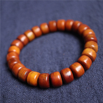 Tibetan boutique roast color Yak bone Buddha beads single circle hand string retro bucket beads Yak bone beads bracelet