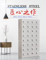 Dalian locker iron cabinet 32 door lockable bathroom locker staff Cabinet dormitory shoes and hats cupboards