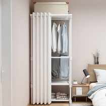 Multi-functional drying racks landing bedroom home hanging clothes rack folding drying racks indoor coat rack storage cabinets