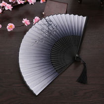 Fan folding fan Chinese style ancient dance folding classical costume Japanese style summer and dancing fan