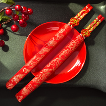 Creative Wedding supplies Happy word dragon and Phoenix hi chopsticks chinese style wedding Chinese to chopsticks wedding gifts hi Chopsticks