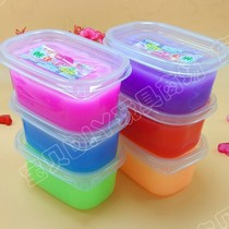 Liquid glass foaming plastic transparent girl foaming plastic foaming plastic box set Girl Big Box female