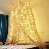 Beijing Dong curtain star lamp net red room bedroom decoration girl heart layout romantic room lights flashing lights string lights