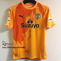 852beb677 KitroomSports J League 2018 Clear Water heartbeat home player soccer jersey  920908-01