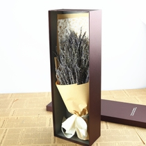 Lavender dry bouquet gypsophila eternal flower home living room decoration gift box natural dried flower hair