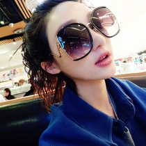 289d3b7388 Increase the frame round face thin polarized sunglasses female star 2018  new Korean street shooting square