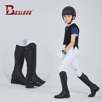 Children riding leg-guardchildren equestrian leg-guards soft comfortable leg-guards children riding equipment eight-foot dragon horse gear.