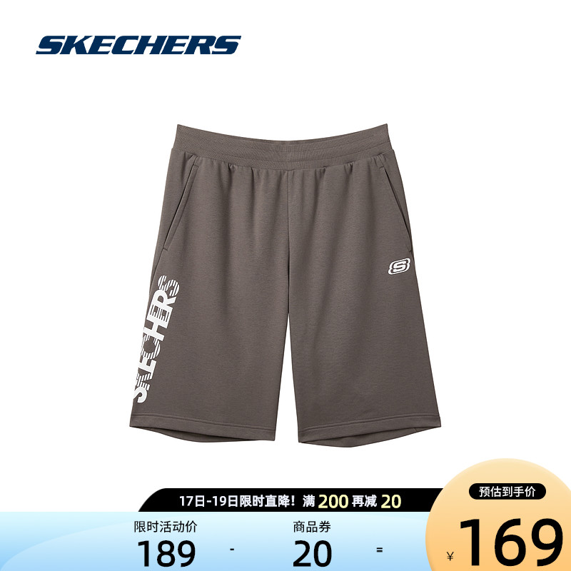Skechers Skechs new spring summer 2021 mens comfortable breathable personality fashion casual shorts