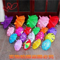Toy 1 Umbrella 3-4 years old 2 baby 6 mini baby boys and girls kindergarten child umbrella ultra small 8 shade ultra light
