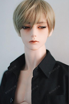 bjd doll 3 uncle open eyes half-sleep ZAK with ID75 SD doll