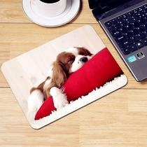 Mouse pad lock side cute animation trumpet thickened laptop desk pad keyboard pad game oversized.