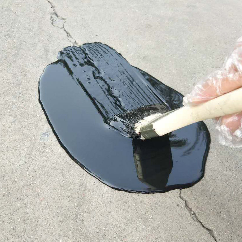 Daming roof polyurethane waterproof glue paint roof cracks house leakage material self-brush sun protection