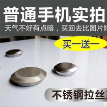Blocked hole clogging sink stainless steel basin tap hole cover kitchen cover ugly cover decoration plug table basin accessories
