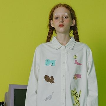 塔卡沙衬衫,童趣元气十足